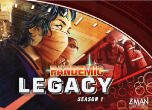 Pandemic Legacy Season 1 – Red